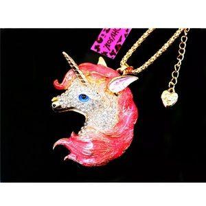 Betsey Johnson Unicorn Pendant Necklace 🌿🆕🌿🆕